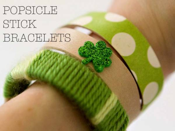 Bâtonnets de glace activité enfant Objectif IEF bracelet