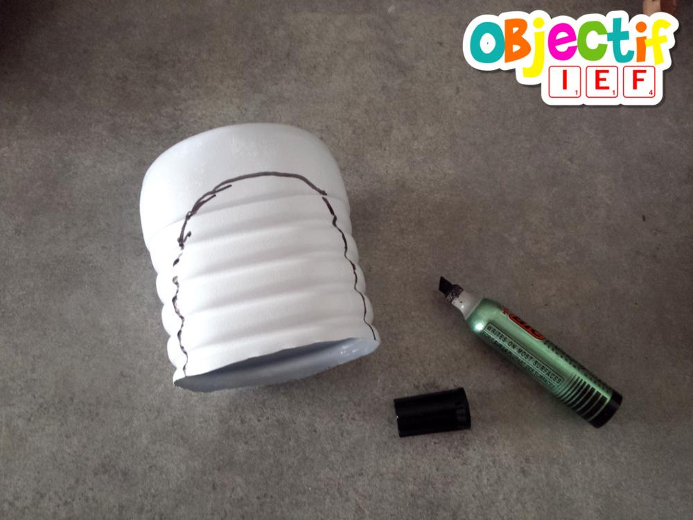 fabriquer une grotte miniature activité créative enfant Objectif IEF