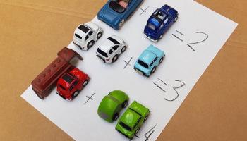intéresser son enfant en IEF calcul voiture