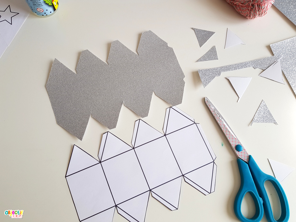 DIY lampion guirlande objectif ief activité créative enfant ramadan