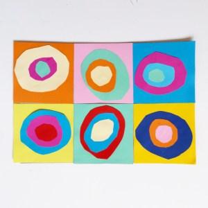 à la manière de Kandinsky objectif ief art visuel