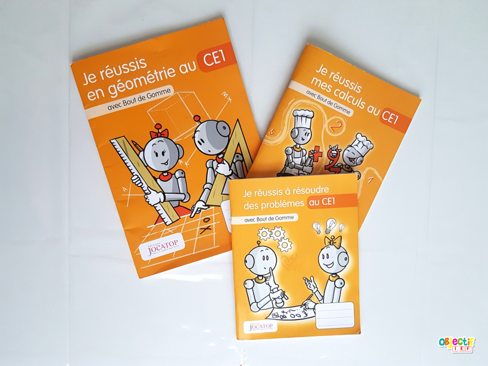 Préparation programme CE1 pour l'année supports manuels liens fichiers matière objectif ief instruction en famille