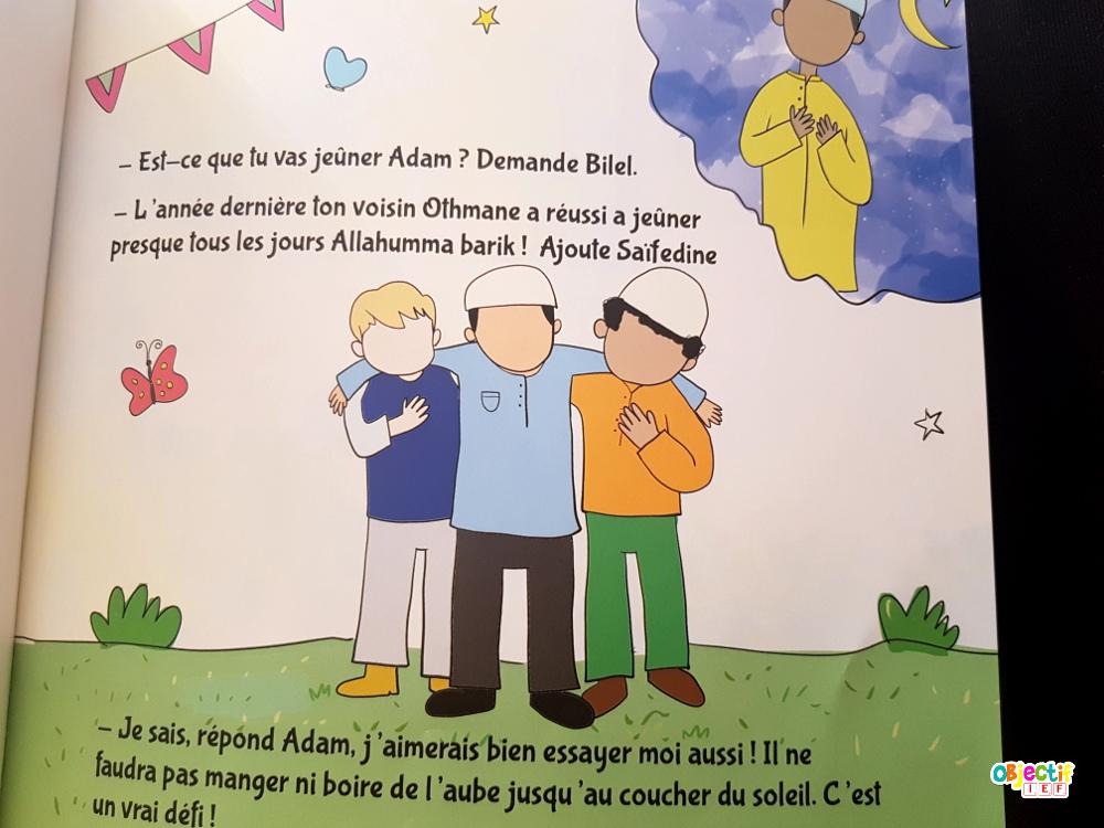 Adam & ramadan livre ummaty books muslim lecture enfant instruction en famille objectif ief
