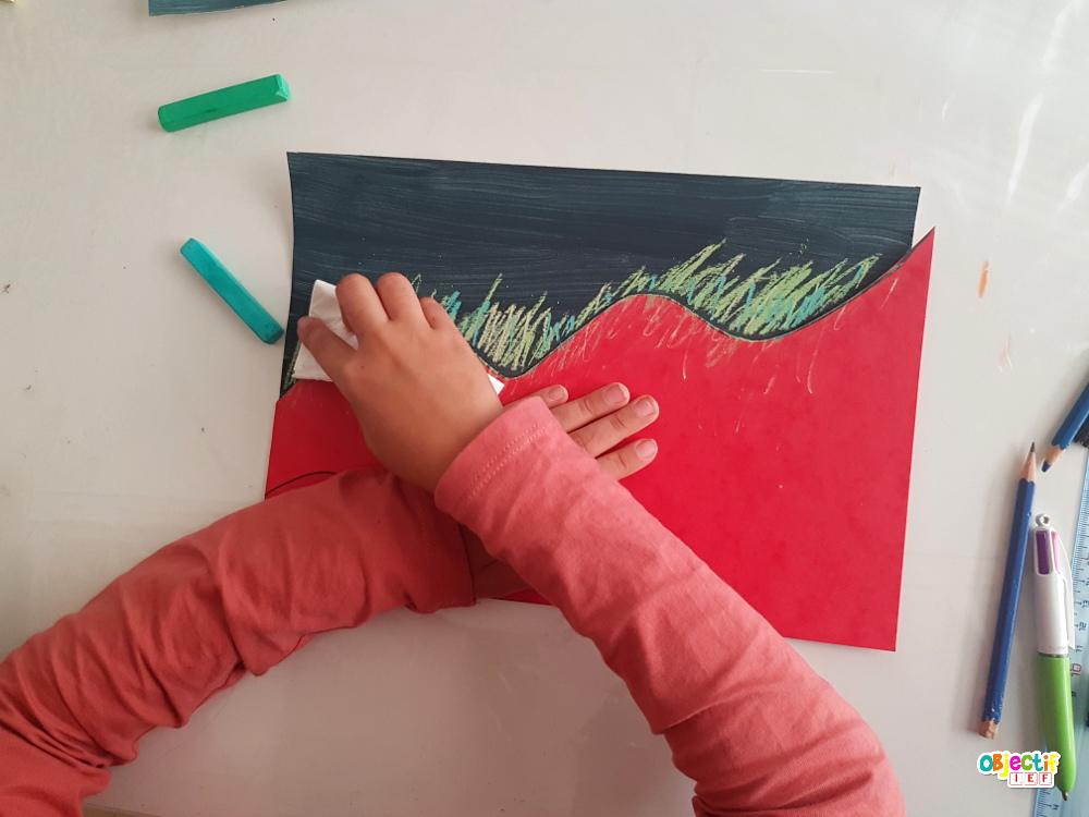 aurore boréale art visuel norvège instruction en famille objectif IEF tour du monde