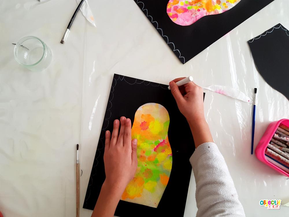 matriochka matrioshka poupée russe art visuel russie russe tour du monde ief instruction en famille activité enfant russie