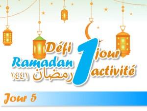 5 piliers de l'Islam défi ramadan activité enfant ramadan islam kids activities jeune ramadan muslim