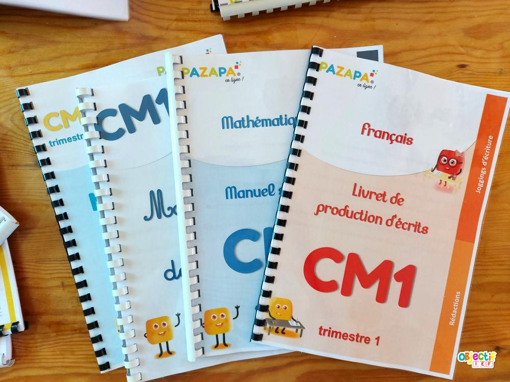 Pazapa rentrée 6ème CM1 CE2 instruction en famille IEF Maroc Objectif IEF école à la maison