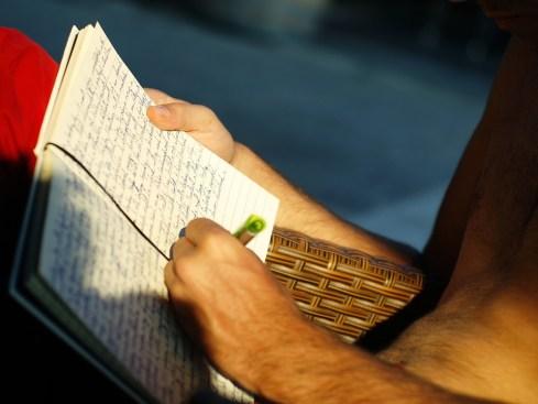 écrivez 3 choses positives de votre journée