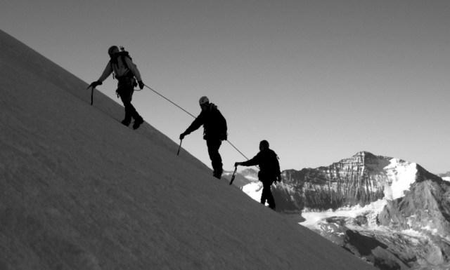 Cordée Alpinistes