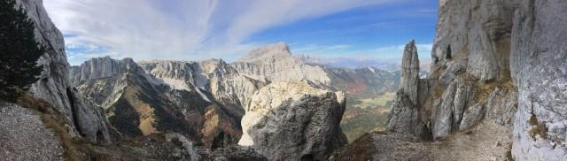 Mont Aiguille - Terrasse