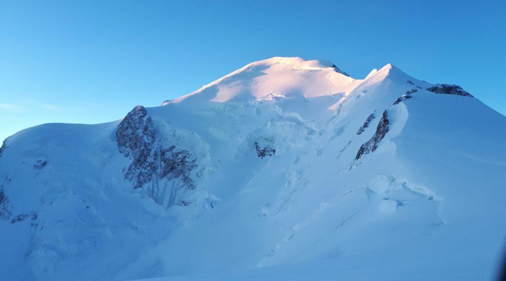 Mont Blanc ensoleillé