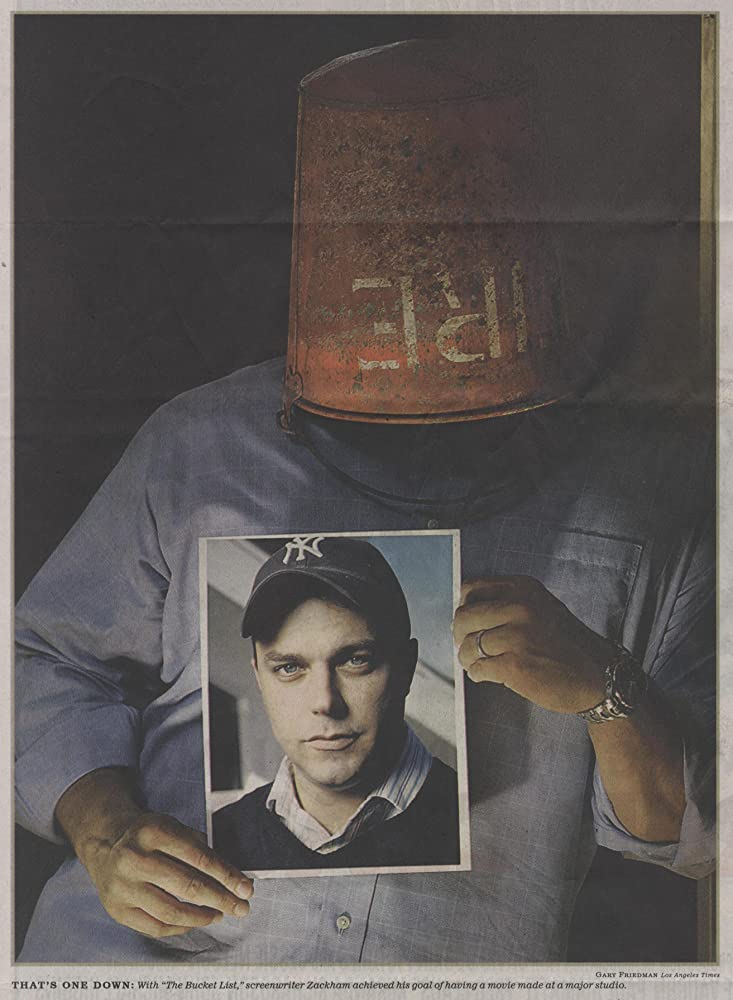 Portrait de Justin Zackham, inventeur du terme bucket list