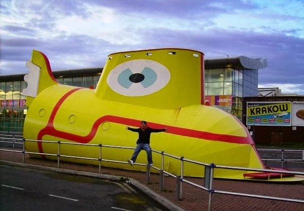 Monter dans le Yellow Submarine- Liverpool