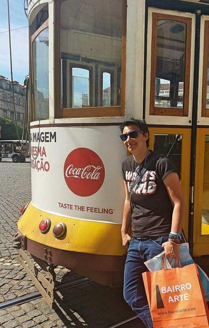 Prendre le Tram à Lisbonne-2