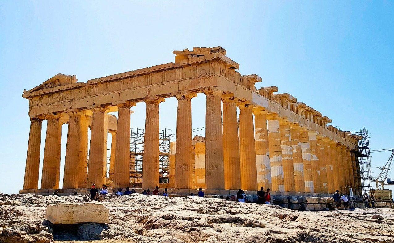 Visiter l'Acropole Athenes