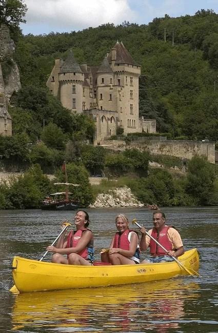 Bucket List activites france - Canoe Dordogne