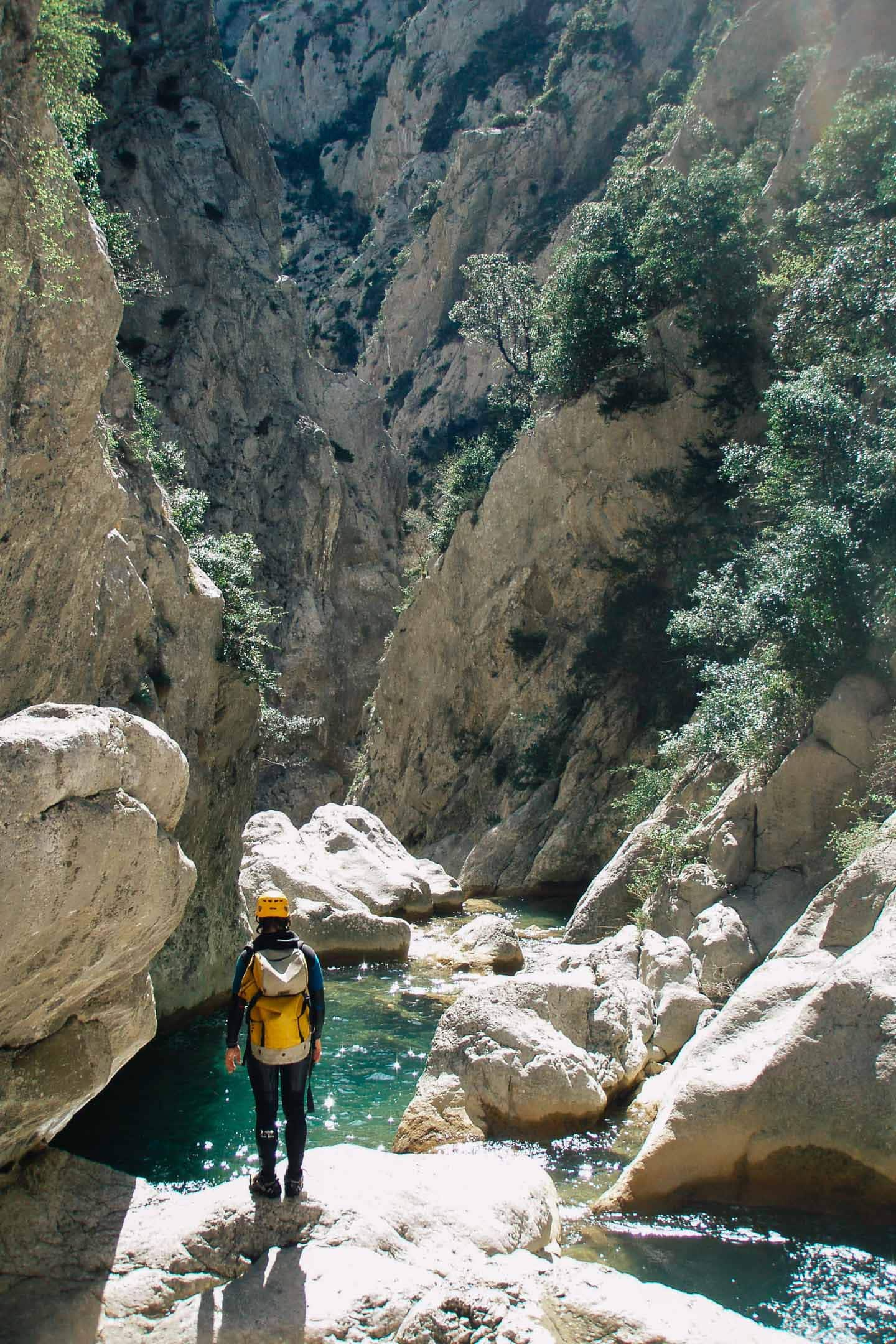 Bucket List activites france - Canyoning Galamus