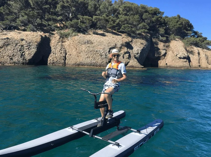 Bucket List activites france - Waterbike