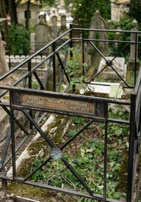 Tombe Desproges Pere Lachaise