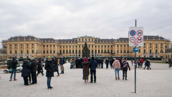 Marche de noel Schonbrunn