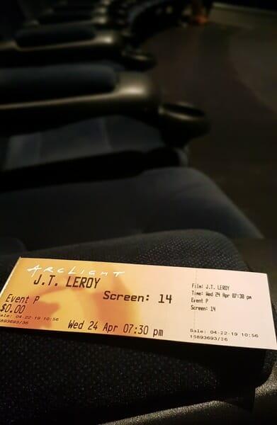 Avant-premiere JT Leroy 2