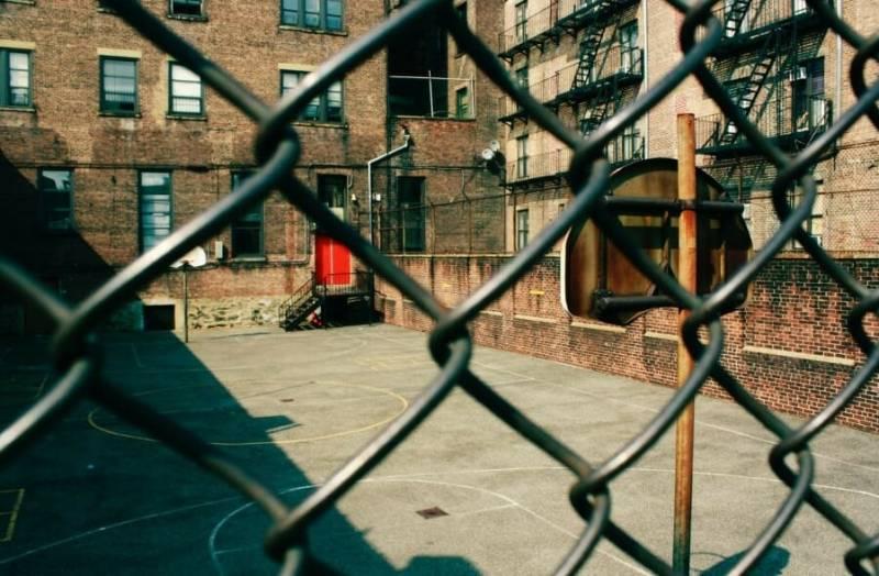 New York Harlem Playground