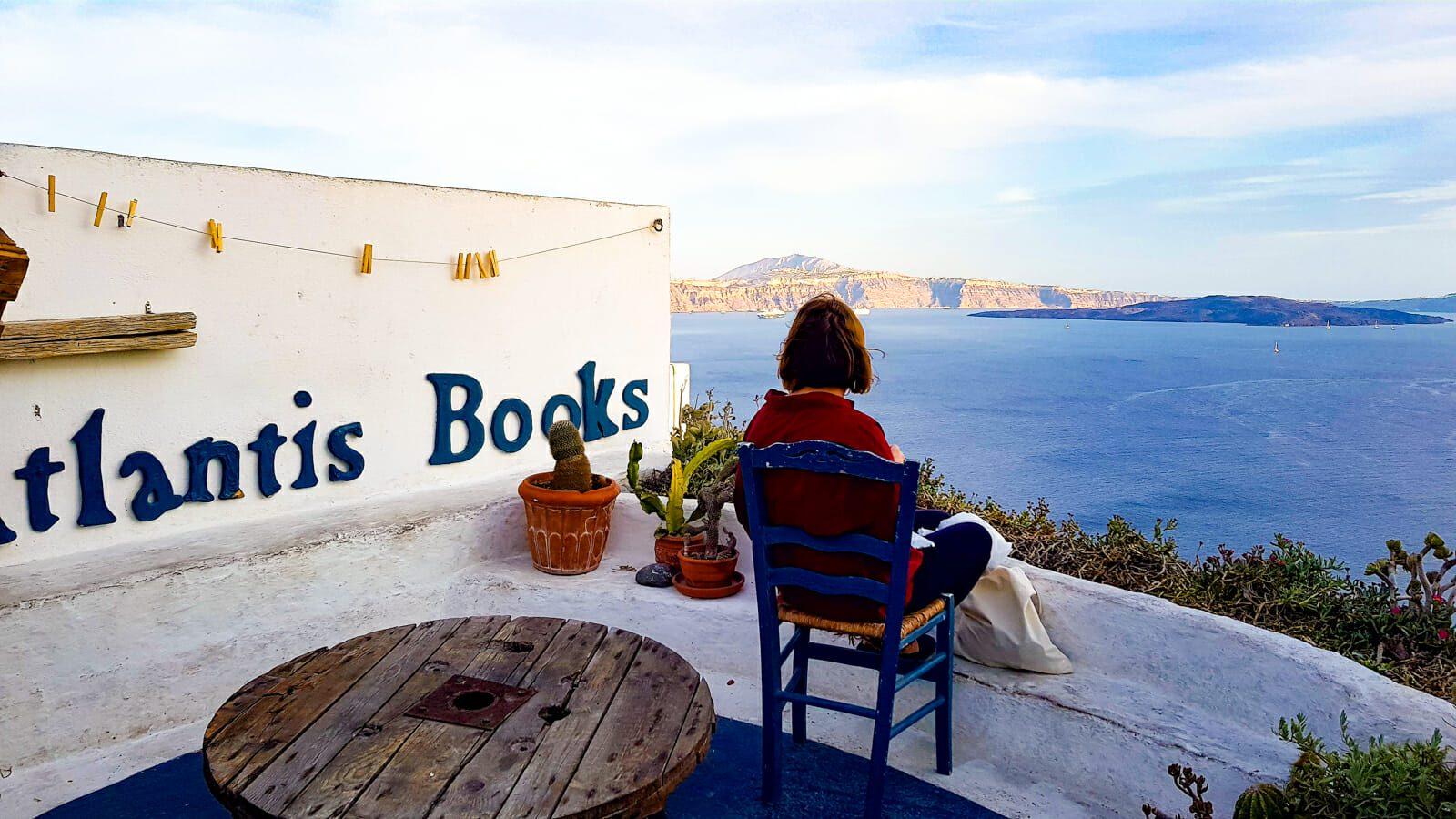 Atlantis Books Santorin