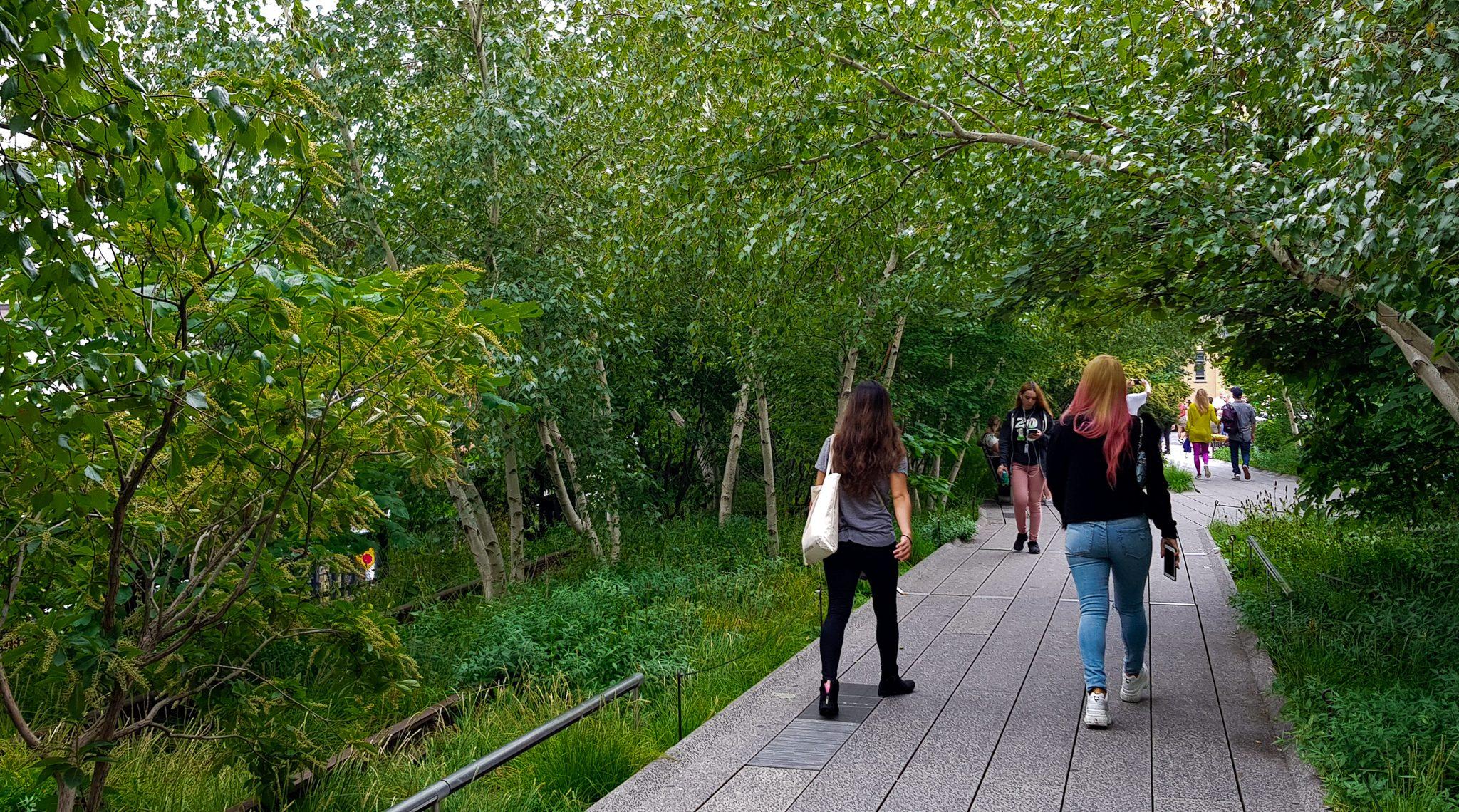 High Line - promenade