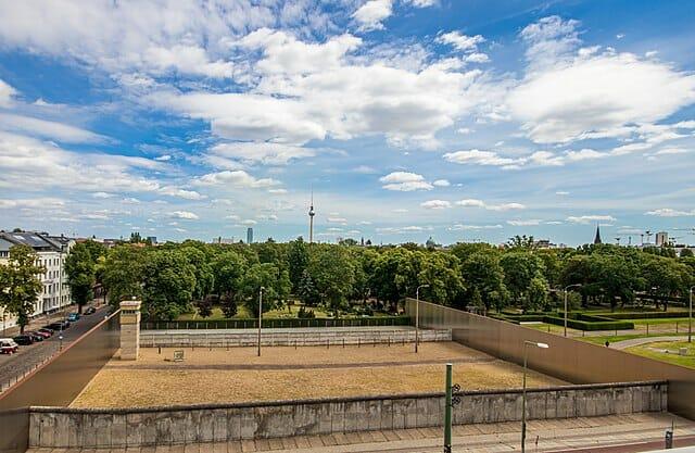 Memorial Mur de Berlin Bernauer Strasse