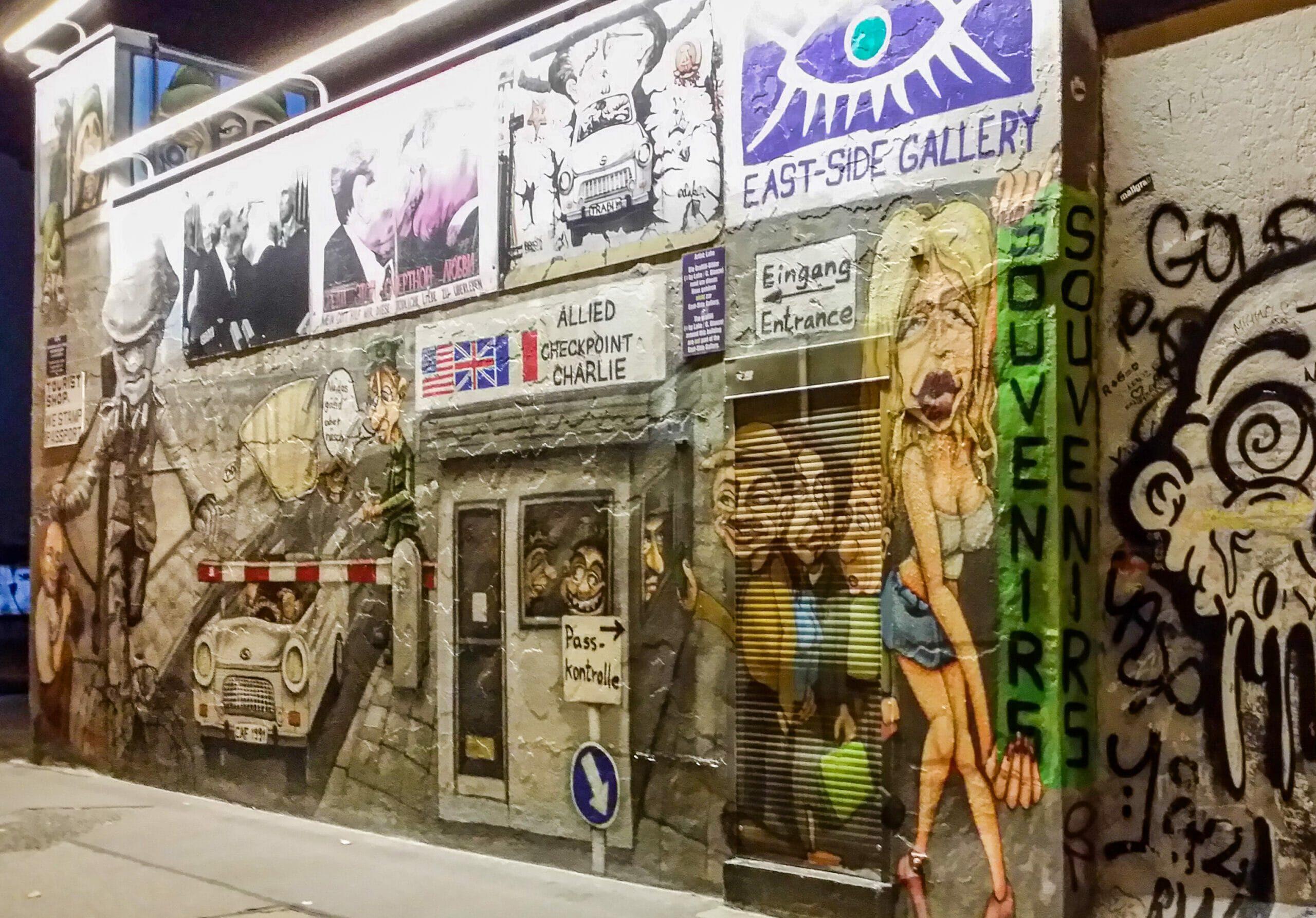 Mur Berlin East Gallery 2015 Entree
