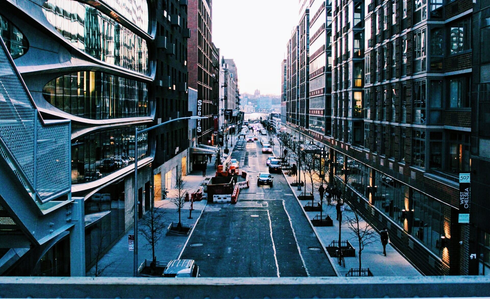 New York depuis la High Line