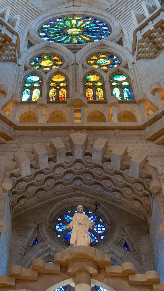 Sagrada Familia Barcelone ext