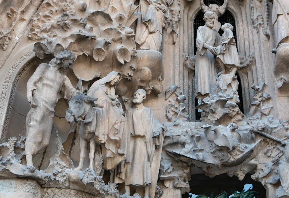 Sagrada Familia Barcelone facade