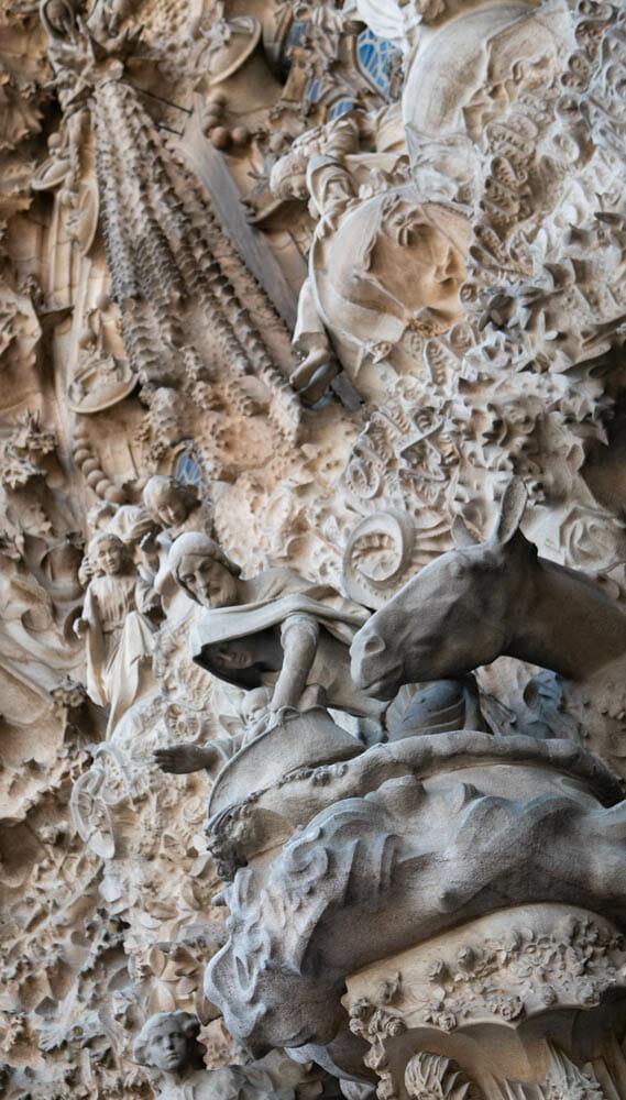 Sagrada Familia Barcelone Nativite