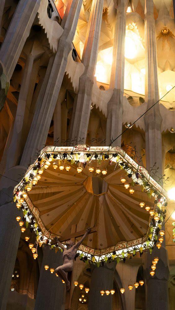 Sagrada Familia Baldaquin
