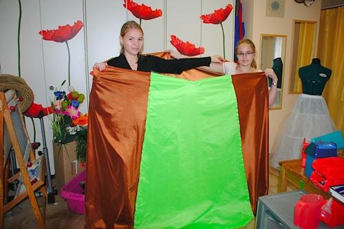 Robes de Caroline et Manon 2011