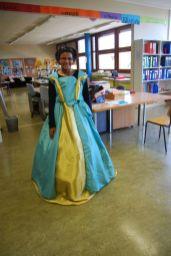 Yasmina était contente de voir ses couleurs s'associer si bien !