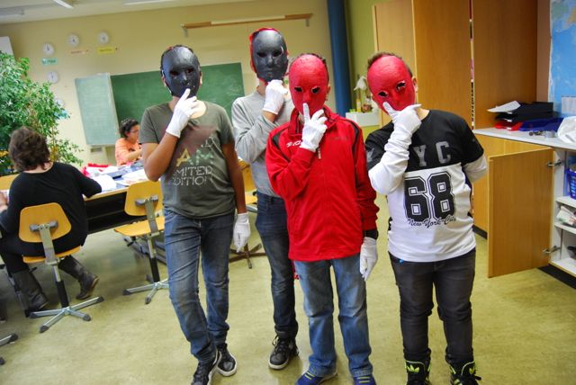 Atelier n°8: les masques bis