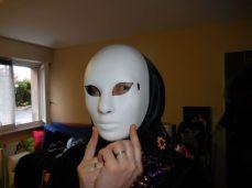 et le masque, super, on ne voit plus la couture et il n'y a même pas besoin de mettre une pression !