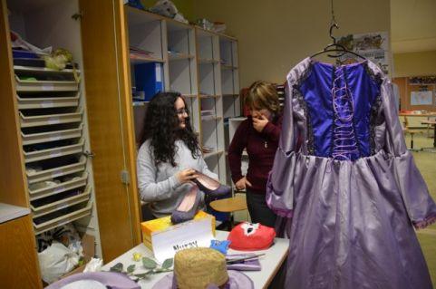 Mme Bovay était sidérée de voir la customisation des chaussures !
