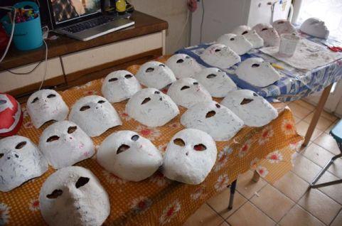 Tous les masques ne sont pa sur cette image !