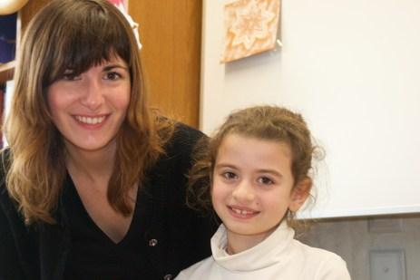Sophie et Chiara, la cousine d'Antonino