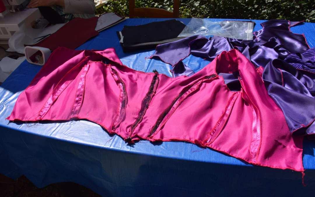 Les jupes et corsages prennent forme !