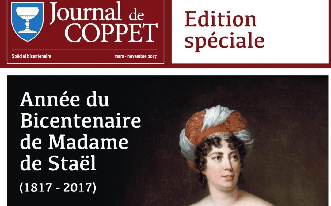 Edition spéciale du journal de Coppet