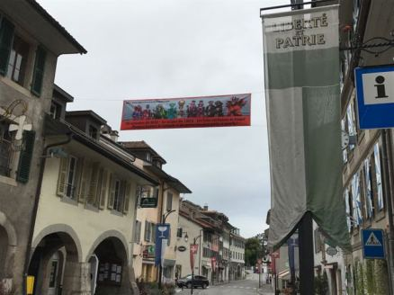 Sur la Route Suisse