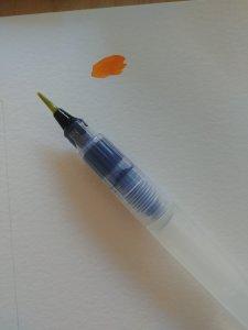 pinceau à réservoir d'eau