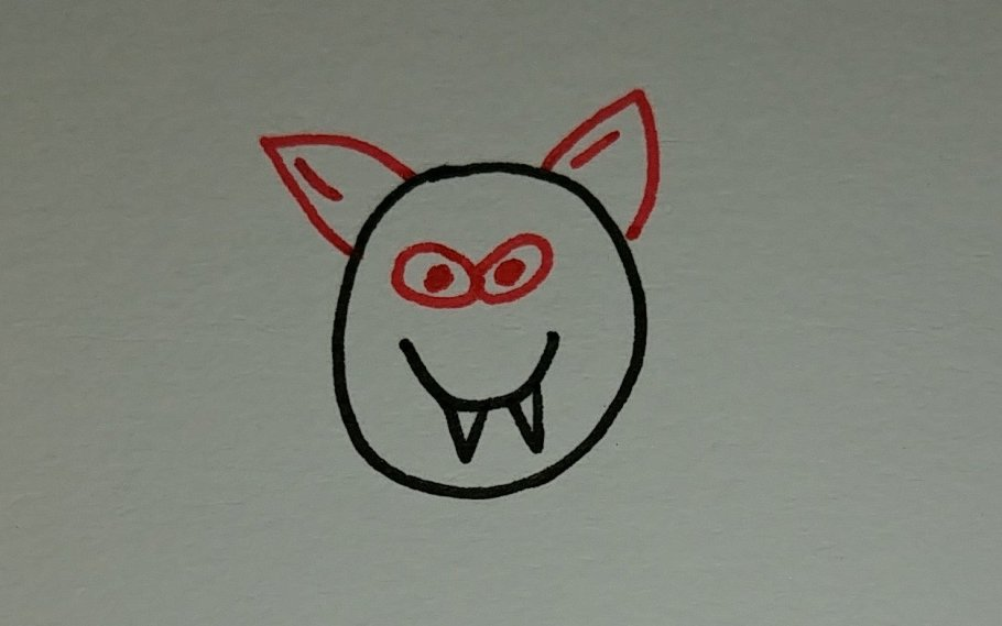 comment dessiner une chauve-souris