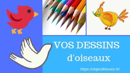 vos dessins d'oiseaux