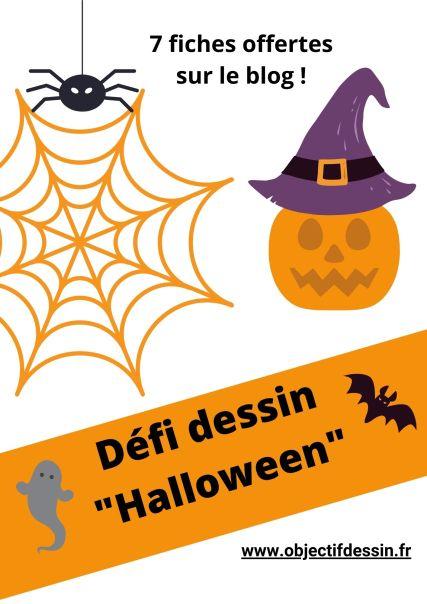 Dessin Halloween a imprimer