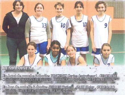 2007-2008 Benjamines